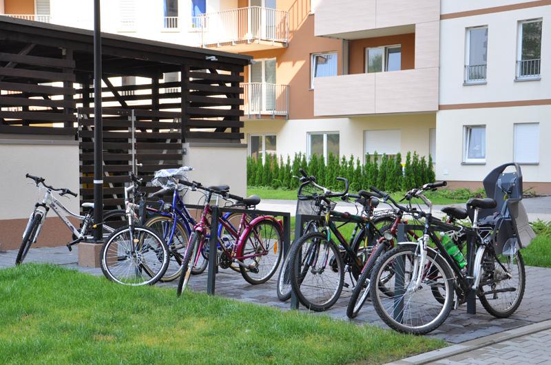 Nowa Bochenka stojaki rowerowe